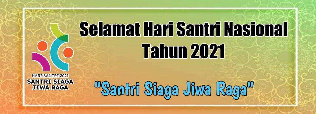 HARI SANTRI 2021